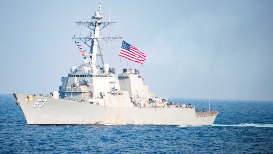 China Condemns USS Stethem Warship Presence In South China Sea