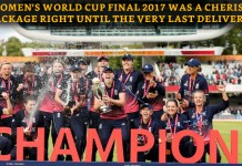 England beat India in WC final