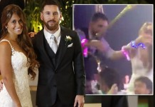 Lionel Messi Danced With His Wife