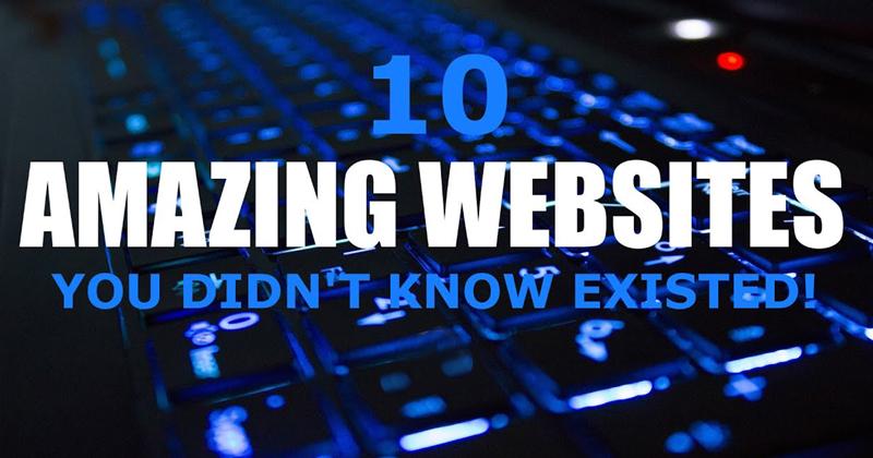 Must-Visit Websites