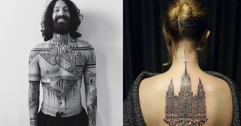 Perfect Tattoos For Architectures And Those Who Love Buildings