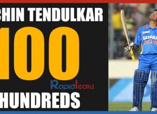 Unbroken records, Sachin Tendulkar 100 Hundreds