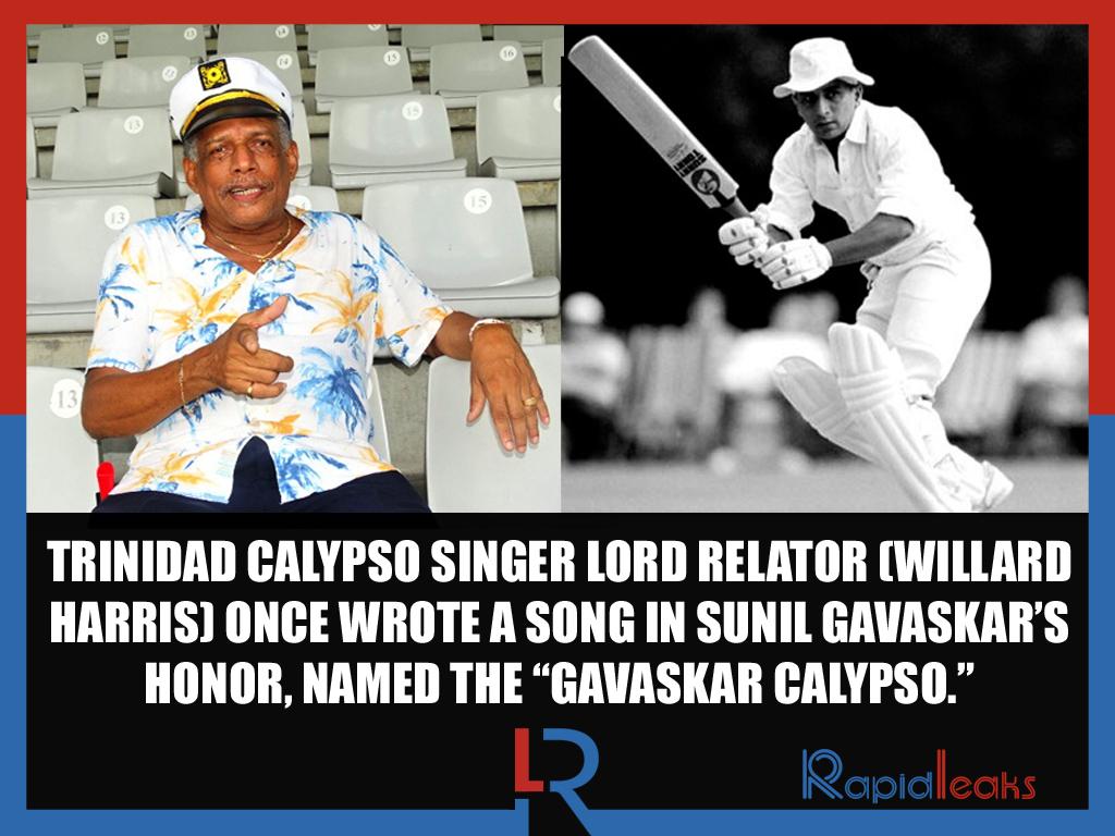 Lord Relator Sunil Gavaksar