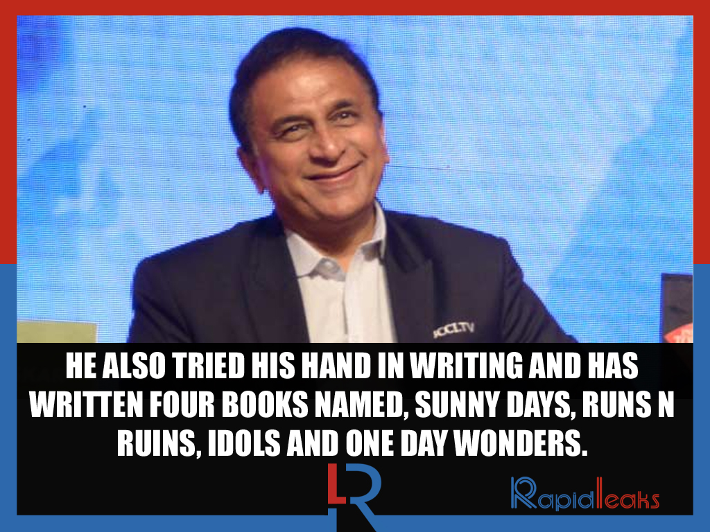 Sunil Gavaskar facts 6