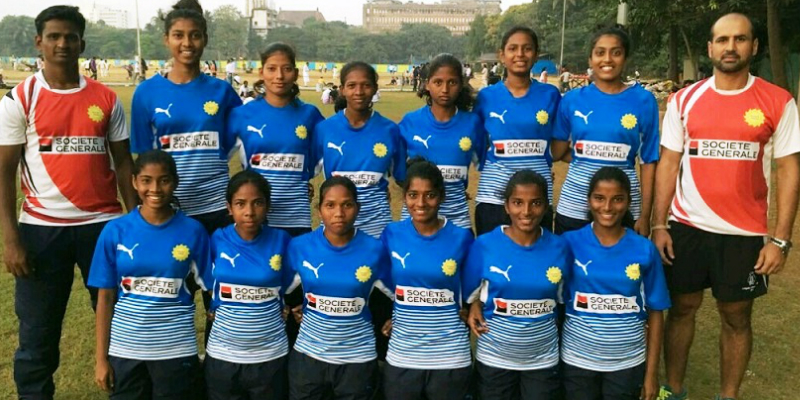 India's U18 Girls Rugby Team
