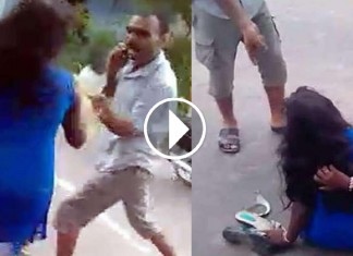 A Woman Was Beaten By A Bihar Cop For Talking Over The Phone To Her Boyfriend!