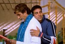 Amitabh Bachchan and Akshay Kumar