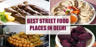 Best Street Food Places In Delhi