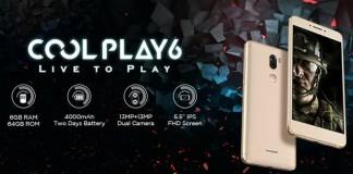 Coolpad Cool Play 6