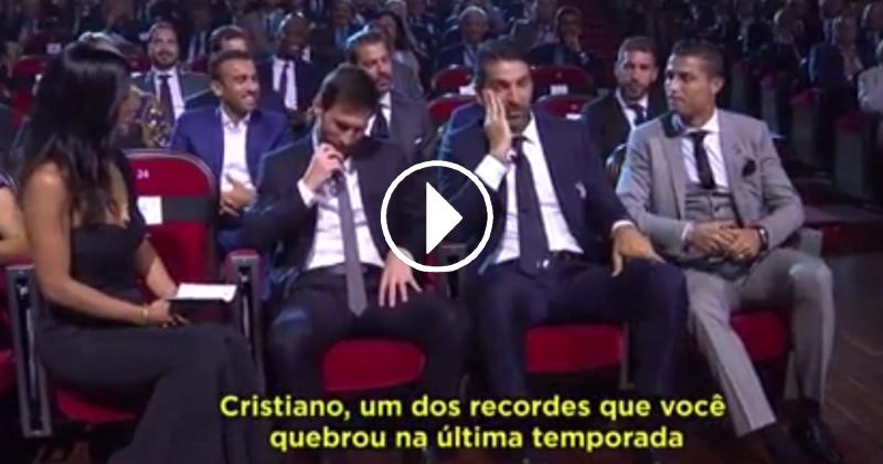 Cristiano Ronaldo Trolls Gianluigi Buffon