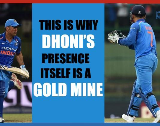 Dhoni's Presence in Team