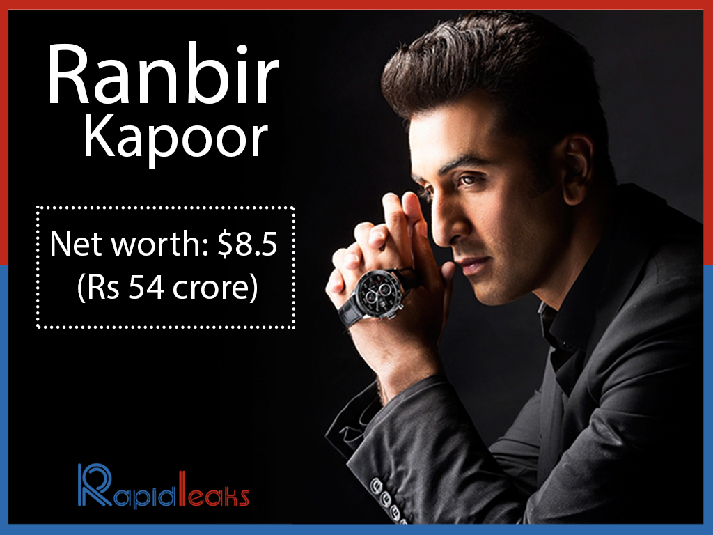 Highest Paid Bollywood Actors List Of Forbes Ranbir Kapoor Net worth Rs 54 crore
