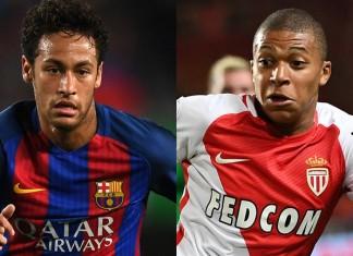 Kylian Mbappé and Neymar