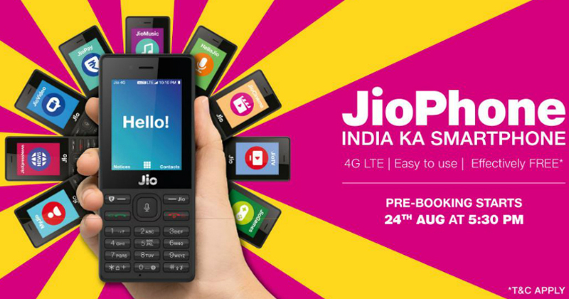Reliance JioPhone: Here Is The List Of Complete Official