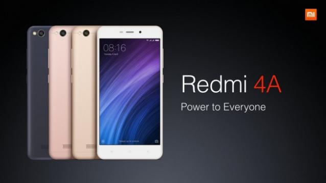 Xiaomi Redmi 4A specifications