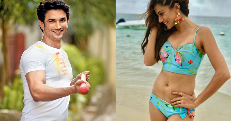 Sushant Singh Rajput and Taapsee Pannu