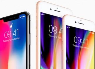 iPhone X, iPhone 8 Plus