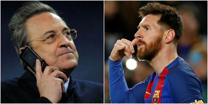 Florentino Perez Wants Lionel Messi At Real Madrid