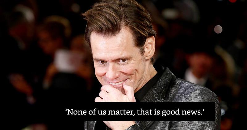 Jim Carrey Interview At NYFW