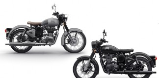 Royal Enfield Gunmetal Grey And Stealth Black