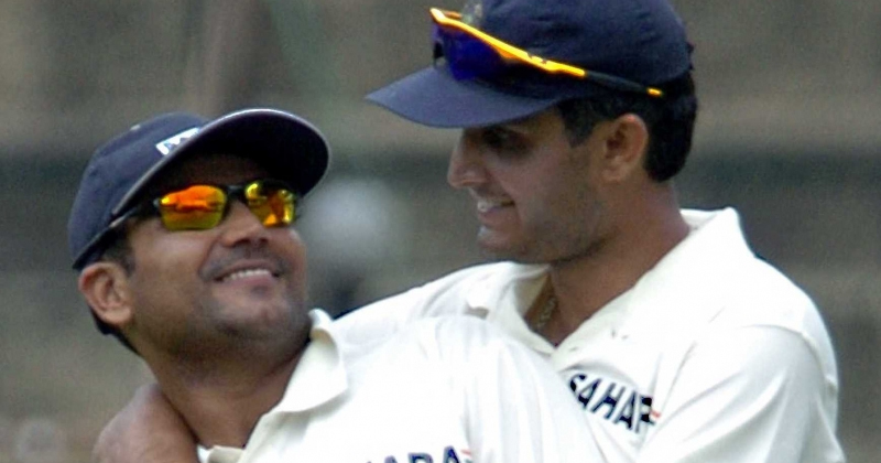 Sourav Ganguly Reacts, Defends and Blocks Sehwag from 'Setting' Comment