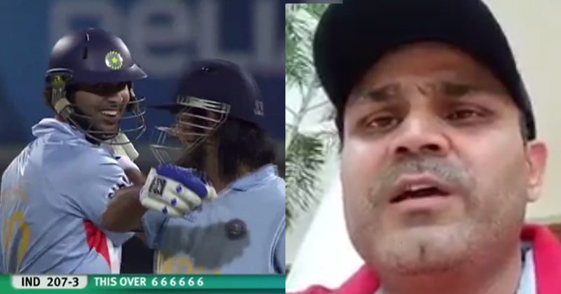 Virender Sehwag Remembers The Extravaganza Of Yuvraj Singh's Six Sixes