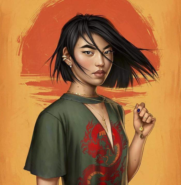 modern Disney princess Mulan