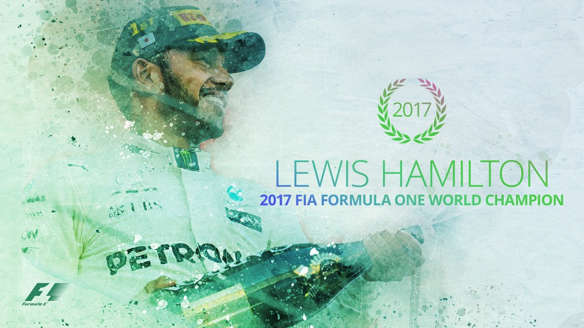 2017 F1 world champion