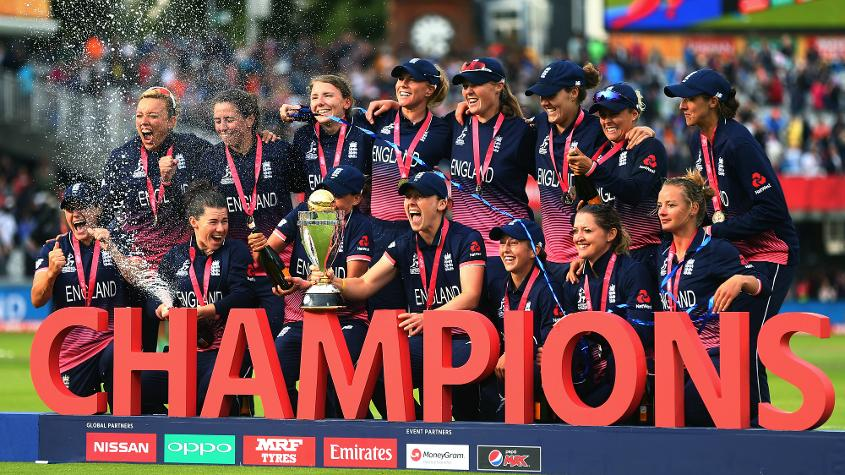 2017 ICC Women's World Cup Champions