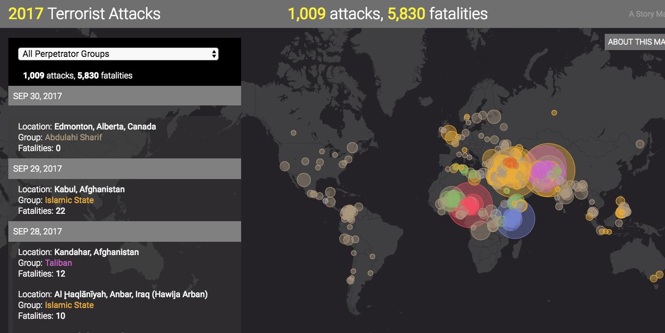 2017 terror attacks