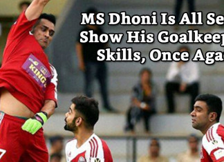 All Heart FC vs All Star FC Virat Kohli and MS Dhoni