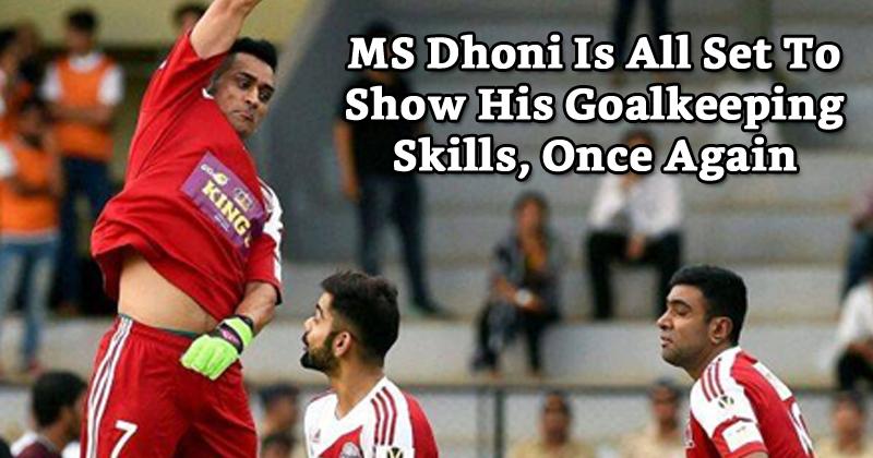 All Heart FC vs All Star FC Virat Kohli and MS Dhoni