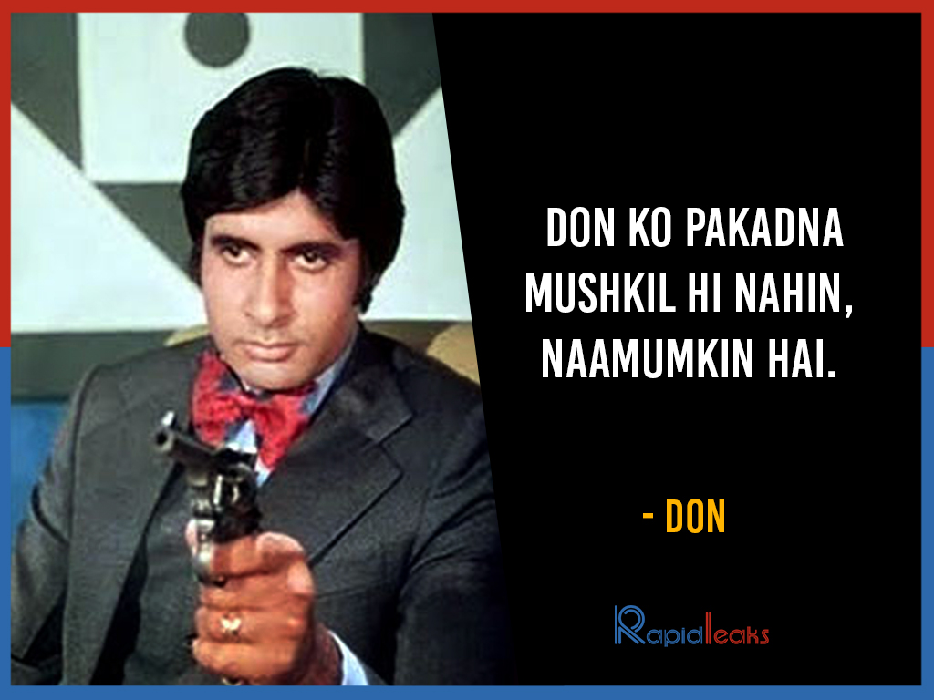 Amitabh Bachchan Dialogues (11)