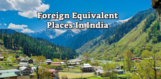 Foreign Equivalent Places In India