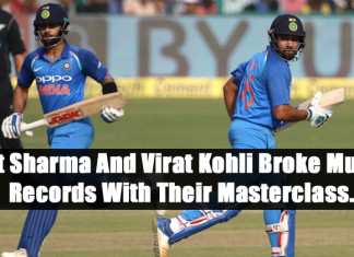 Rohit Sharma And Virat Kohli Broke Multiple Records With Their Masterclass