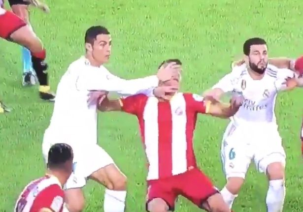 Cristiano Ronaldo La Liga Ban