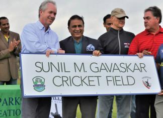Sunil Gavaskar Cricket Field