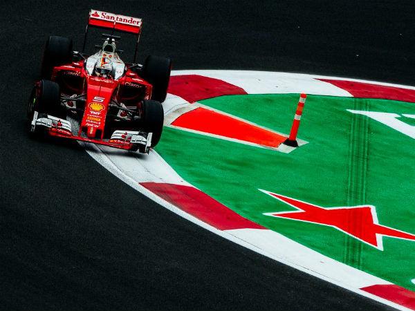 Vettel at Mexico
