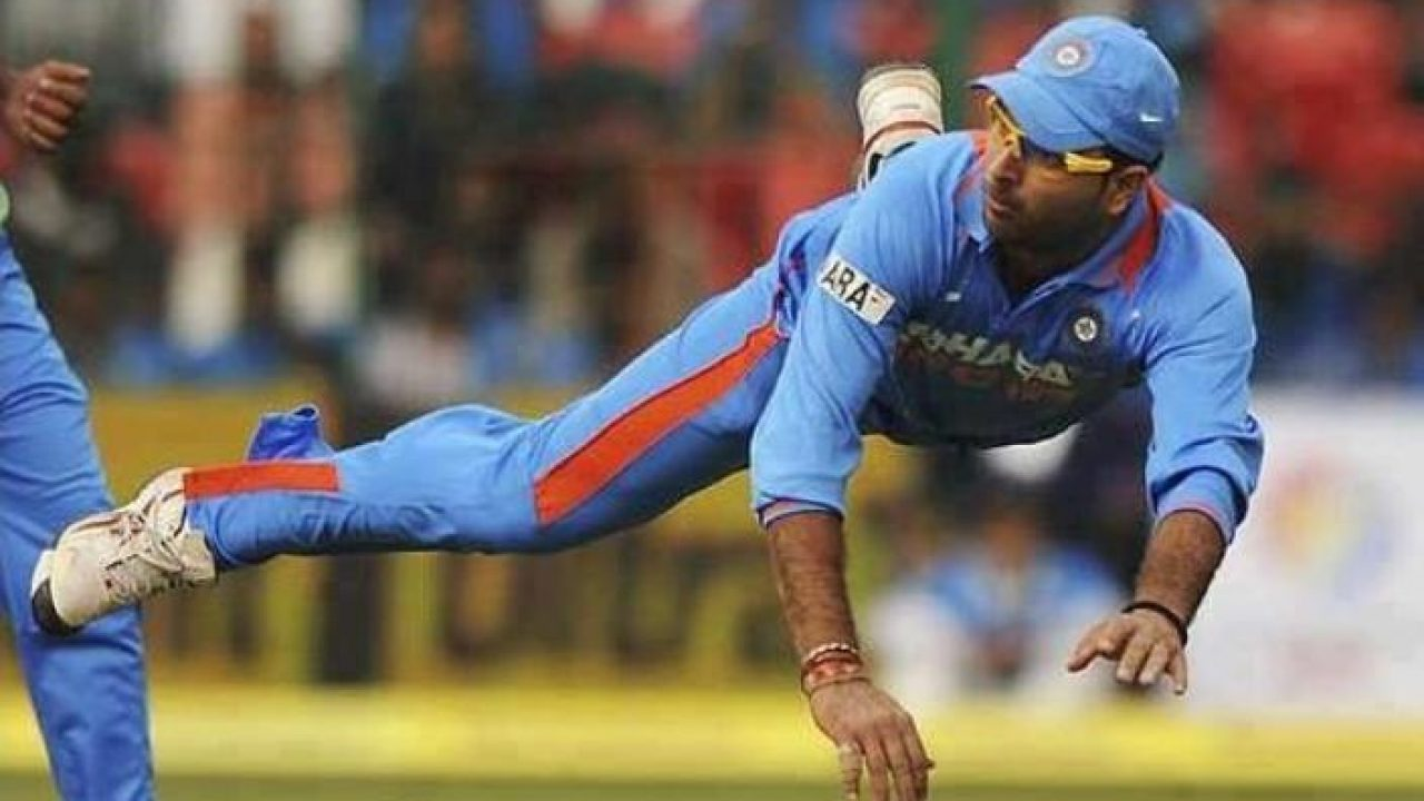 Yuvraj Singh: 5 Best Catches By The Once Boundless Indian All Rounder