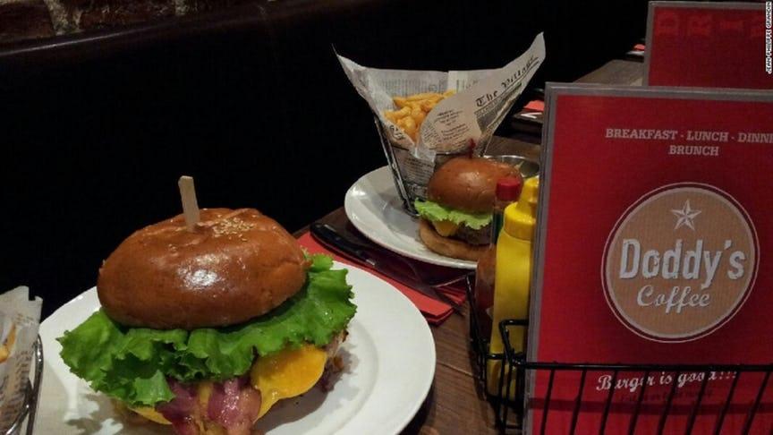 Zlatan Ibrahimovic burger