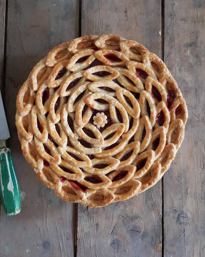 beautiful pie designs 14