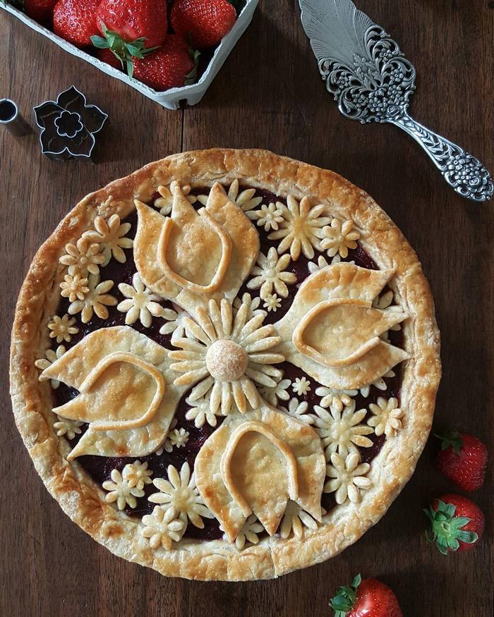 beautiful pie designs 7