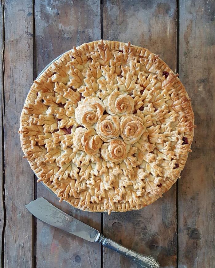 beautiful pie designs 8