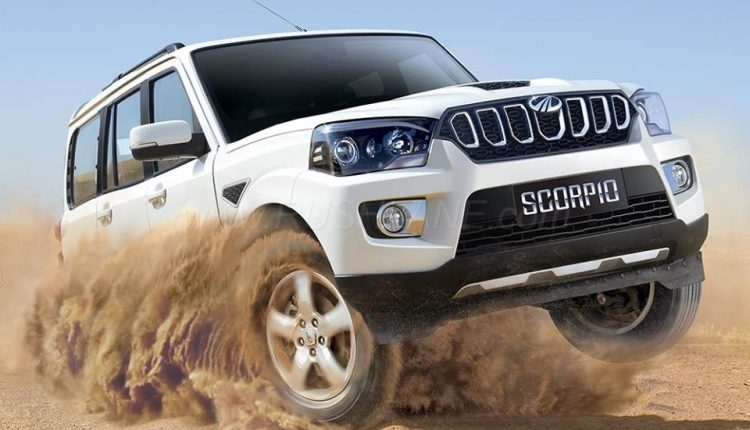 2017 Mahindra Scorpio Facelift Launched