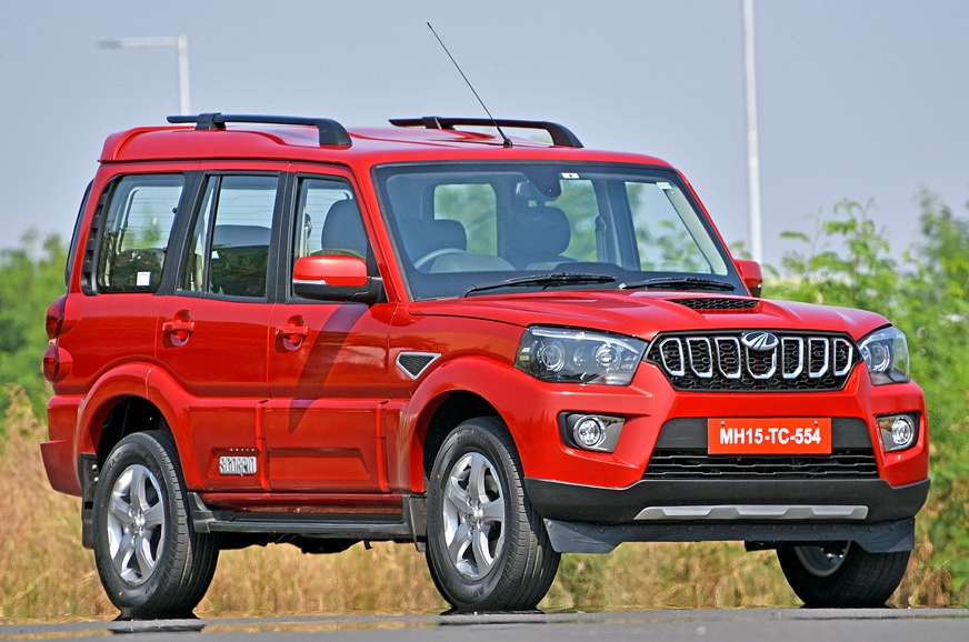2017 Mahindra Scorpio Facelift Launched: Specifications ...