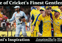 Adam Gilchrist One of Cricket's Finest Gentlemen