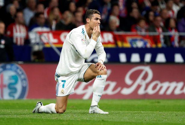 Cristiano Ronaldo disappointed