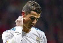 Cristiano Ronaldo sad