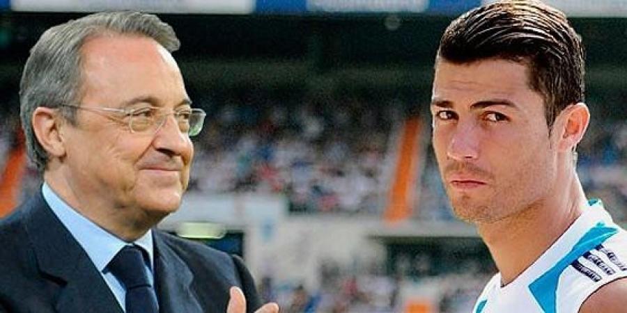 Florentino perez and ronaldo