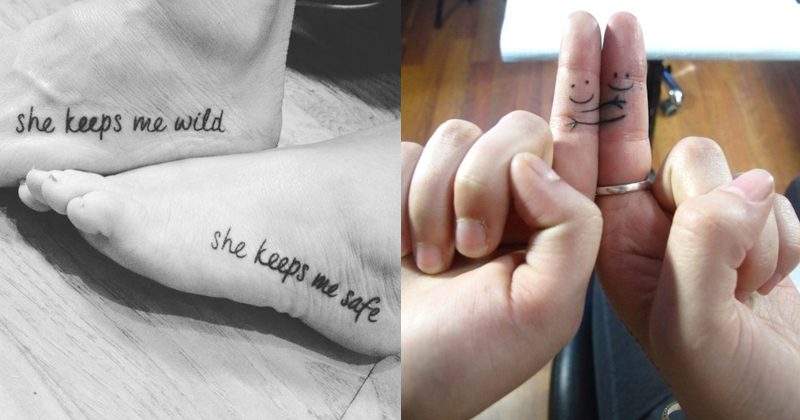 If Your Best Friend Is Getting Married Here Are 15 Tattoos To Mark Your Territory In Her Life